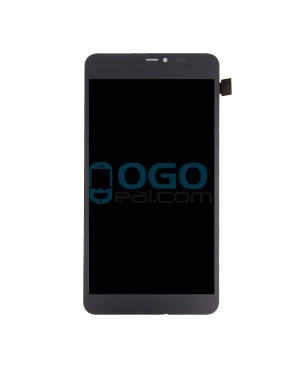 LCD & Digitizer Touch Screen Assembly Replacement for Nokia Microsoft Lumia 640XL - Black