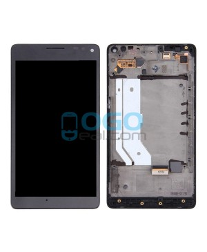 LCD & Digitizer Touch Screen Assembly With Frame replacement for Nokia Microsoft Lumia 950XL - Black