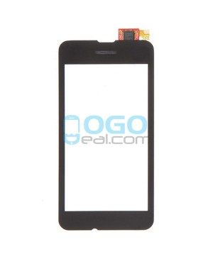 Digitizer Touch Glass Panel Replacement for Nokia Lumia 530 Black