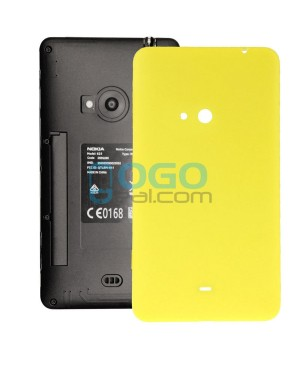 Battery Door/Back Cover Replacement for Nokia Lumia 625 - Yellow