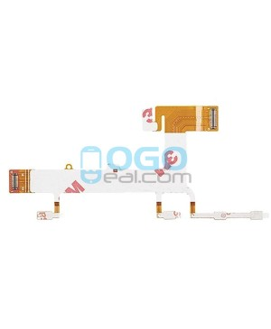 Power On Off Volume Side Key Button Flex Cable Replacement for Nokia Lumia 625