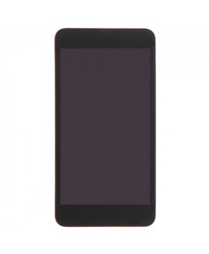 LCD & Digitizer Touch Screen Assembly With Frame replacement for Nokia Lumia 630 - Black