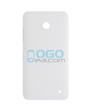 Battery Door/Back Cover Replacement for Nokia Lumia 630 - White