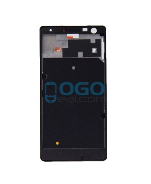 Front Housing Bezel Replacement for Nokia Lumia 730 - Black