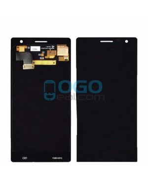 LCD & Digitizer Touch Screen Assembly Replacement for Nokia Lumia 735 - Black
