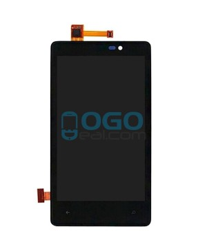 LCD & Digitizer Touch Screen Assembly Replacement for Nokia Lumia 820 - Black