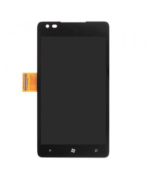 LCD & Digitizer Touch Screen Assembly Replacement for Nokia Lumia 900 - Black