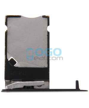 SIM Card Tray Replacement for Nokia Lumia 900 - Black