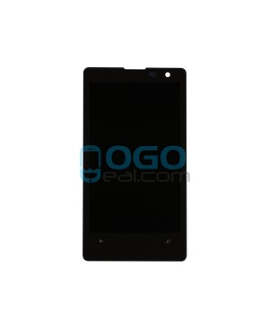 LCD & Digitizer Touch Screen Assembly Replacement for Nokia Lumia 1020 - Black