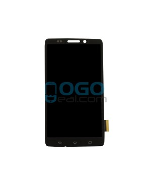 LCD & Digitizer Touch Screen Assembly Replacement for Motorola Droid Maxx XT1080M - Black