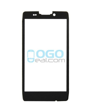Front Outer Screen Glass Lens Replacement for Motorola Droid Razr HD XT926 XT925 - Black