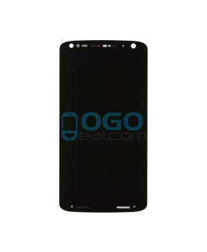 LCD & Digitizer Touch Screen Assembly With Frame replacement for Motorola Droid Turbo 2 - Black