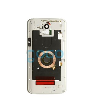 Midframe Assembly Replacement for Motorola Droid Turbo 2 - White/Silver