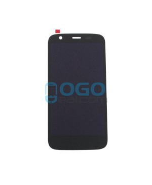 LCD & Digitizer Touch Screen Assembly Replacement for Motorola Moto G - Black