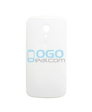 Battery Door/Back Cover Replacement for Motorola Moto G (2nd Gen) - White