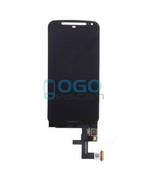 LCD & Digitizer Touch Screen Assembly Replacement for Motorola Moto G (2nd Gen) - Black
