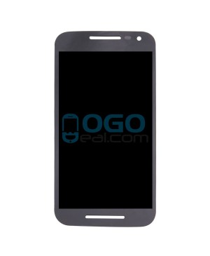 LCD & Digitizer Touch Screen Assembly Replacement for Motorola Moto G (3rd Gen) - Black