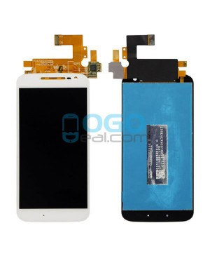 LCD & Digitizer Touch Screen Assembly Replacement for Motorola Moto G4 - White