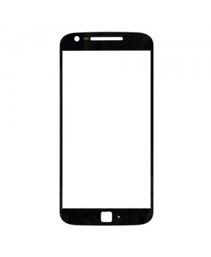 Front Outer Screen Glass Lens Replacement for Motorola Moto G4 Plus - Black
