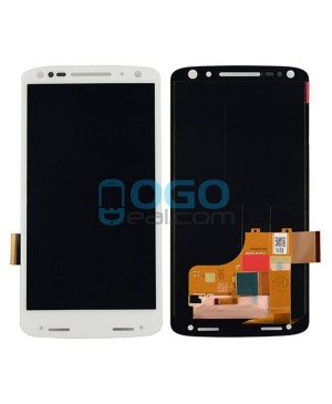 LCD & Digitizer Touch Screen Assembly Replacement for Motorola Moto X Force XT1581 XT1585 - White