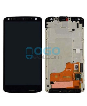 LCD & Digitizer Touch Screen Assembly With Frame replacement for Motorola Moto X Force XT1581 XT1585 - Black
