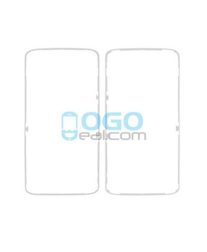 Front Housing Bezel Replacement for Motorola Moto X Force XT1581 XT1585 - White