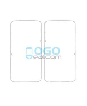 Front Housing Bezel Replacement for Motorola Moto X Force XT1581 XT1585 - White