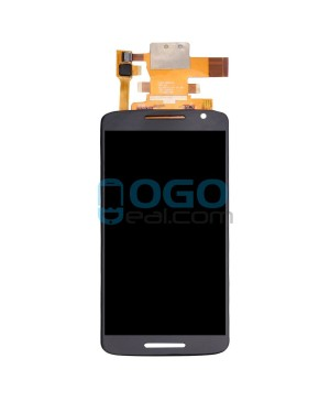 LCD & Digitizer Touch Screen Assembly Replacement for Motorola Moto X Play XT1561 XT1562 XT1563 - Black