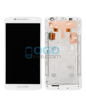 LCD & Digitizer Touch Screen Assembly With Frame replacement for Motorola Moto X Play XT1561 XT1562 XT1563 - White