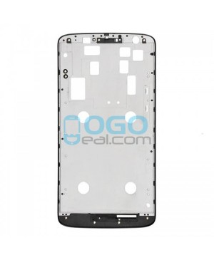 Front Housing Bezel Replacement for Motorola Moto X Play XT1561 XT1562 XT1563 - Black