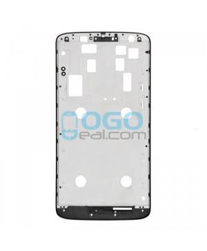 Front Housing Bezel Replacement for Motorola Moto X Play XT1561 XT1562 XT1563 - Black