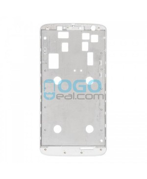 Front Housing Bezel Replacement for Motorola Moto X Play XT1561 XT1562 XT1563 - White