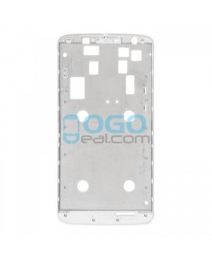 Front Housing Bezel Replacement for Motorola Moto X Play XT1561 XT1562 XT1563 - White