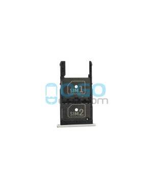 Dual SIM/Micro SD Card Tray Replacement for Motorola Moto X Play XT1561 XT1562 XT1563 - White
