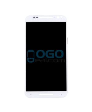LCD & Digitizer Touch Screen Assembly Replacement for Motorola Moto X Pure Edition XT1575 - White
