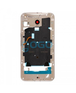Front Housing Bezel Replacement for Motorola Moto X Style - Gold