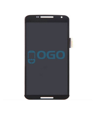 LCD & Digitizer Touch Screen Assembly Replacement for Google Nexus 6 - Black
