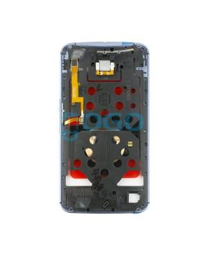 Front Housing Bezel Replacement for Motorola Google Nexus 6 - Black