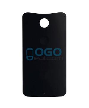 Battery Door/Back Cover Replacement for Motorola Google Nexus 6 - Black