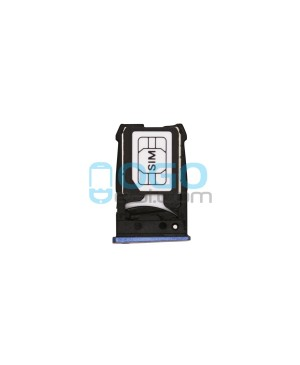 SIM/Micro SD Card Tray Replacement for Google Nexus 6 - Blue