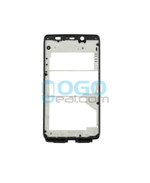 Front Housing Bezel Replacement for Motorola Droid Ultra XT1080 - Black