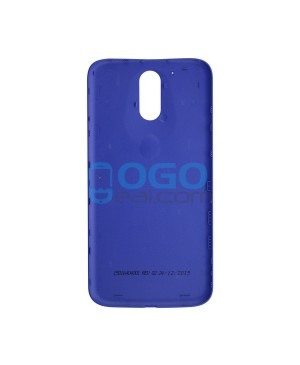 Battery Door/Back Cover Replacement for Motorola Moto G4 Plus - Blue