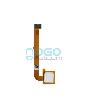 Fingerprint Sensor Flex Cable Replacement for Motorola Moto G4 Plus - White