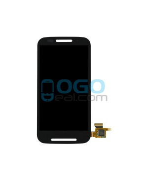 LCD & Digitizer Touch Screen Assembly Replacement for Motorola E - Black