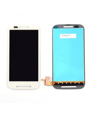LCD & Digitizer Touch Screen Assembly Replacement for Motorola E - White