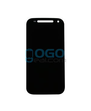 LCD & Digitizer Touch Screen Assembly Replacement for Motorola Moto E(2nd Gen) - Black