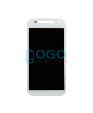 LCD & Digitizer Touch Screen Assembly Replacement for Motorola Moto E(2nd Gen) - White