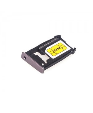 SIM Card Tray Replacement for Motorola Moto X 2nd Gen - Black