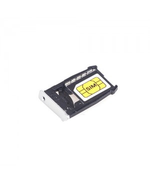 SIM Card Tray Replacement for Motorola Moto X 2nd Gen - White