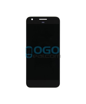 LCD & Digitizer Touch Screen Assembly Replacement for Google Pixel - Black
